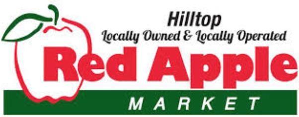 Hilltop Red Apple logo
