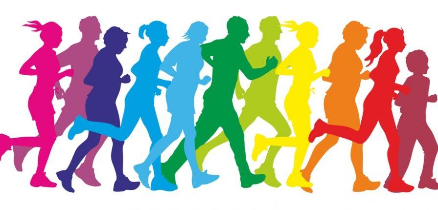 5k run rainbow